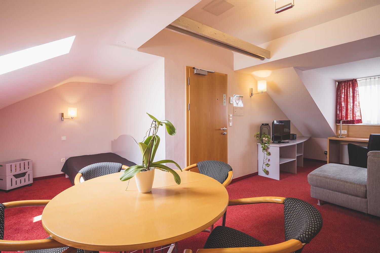 Die Suite im Creativhotel Luise in Erlangen