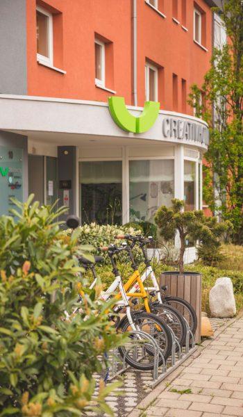 Hotel Erlangen Fahrräder